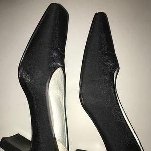 Naturalizer – Black Shimmer Evening Shoes